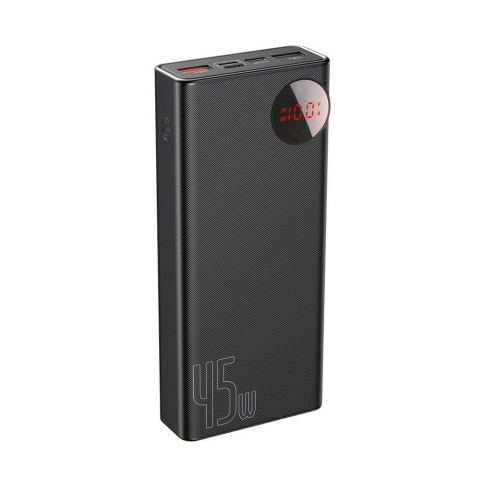 Baseus Mulight Digital Display Quick Charge Power Bank 45W 20000mAh Black