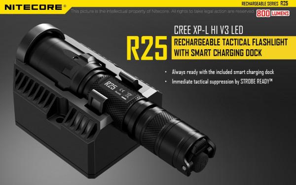Nitecore LED-Taschenlampe R25