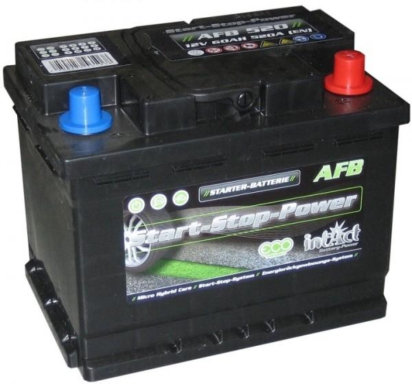 Intact Start-Stop Power EFB 12 V 60 AH (c20) 640 A (EN )  GUG