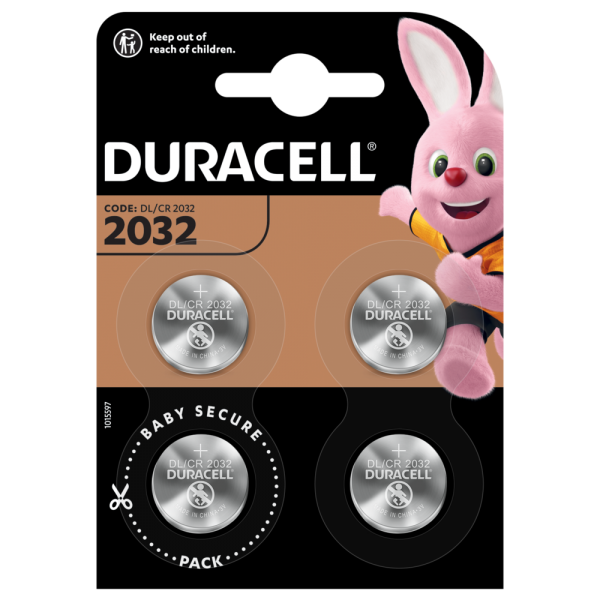 Duracell 4x CR2032