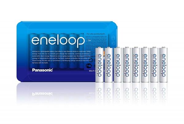 Panasonic Eneloop 8x AAA 750mAh  -Sliding Pack