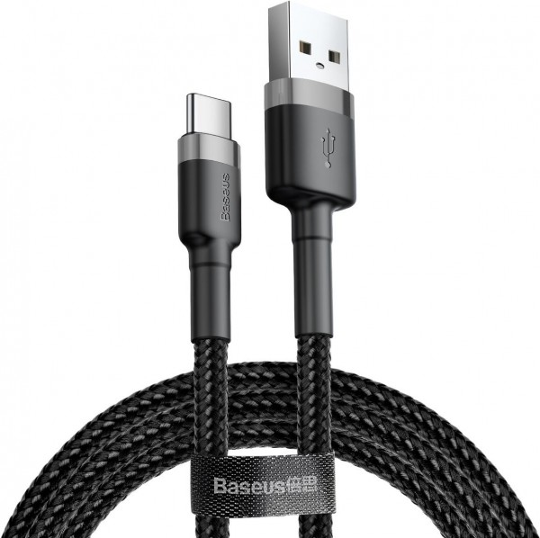 Baseus Cafule Series Cable (USB A-C) 0.5m Black-Grey