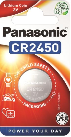Panasonic Lithium Power 1x CR2450