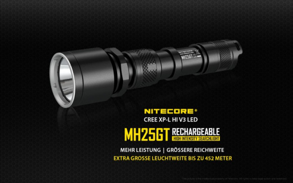 Nitecore LED-Taschenlampe MH25GT