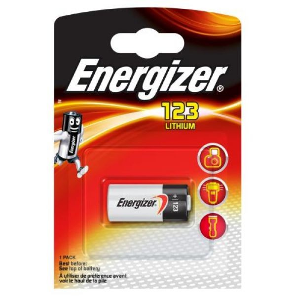 Energizer Photo Lithium 1x CR123A
