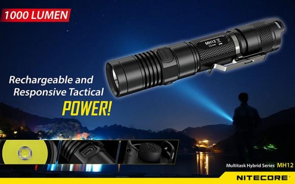 Nitecore LED-Taschenlampe MH12W