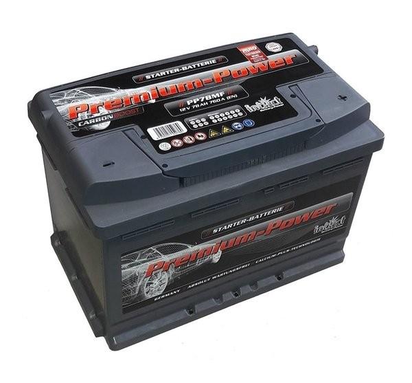 Intact Premium Power 12 V 78 AH (c20) 760 A (EN)  GUG