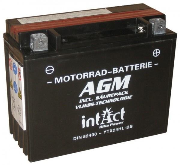 Intact Bike Power AGM - YTX24HL-BS MoBa 12 V 21 AH (c20) 350 A (EN), YTX24HL-BS