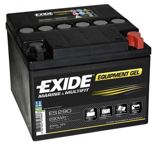 Exide ES290 12 V 25 AH (c20) 240 A (EN) GUG