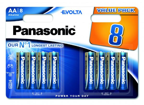 Panasonic Evolta 8x LR6 (AA)