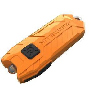 Nitecore Schlüsselleuchte Tube orange