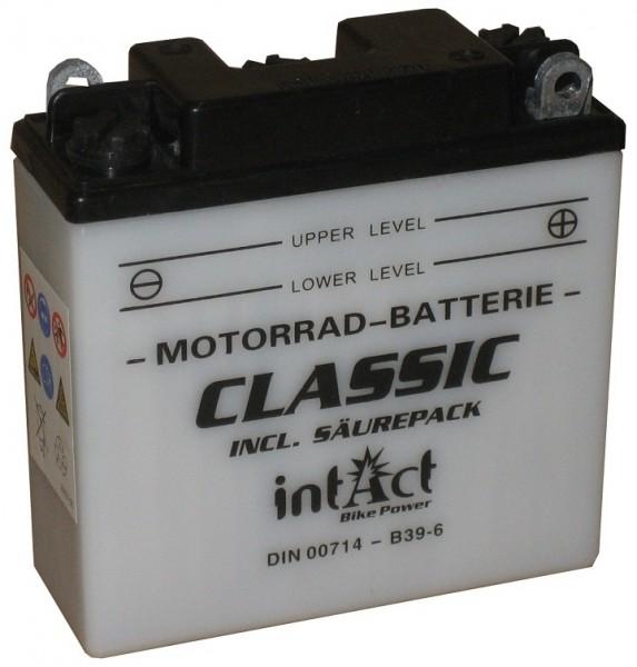 Intact Bike Power Classic - 00714S MoBa 6 V 7 AH (c20) 30 A (EN), B39-6, 6N7-1  +SP