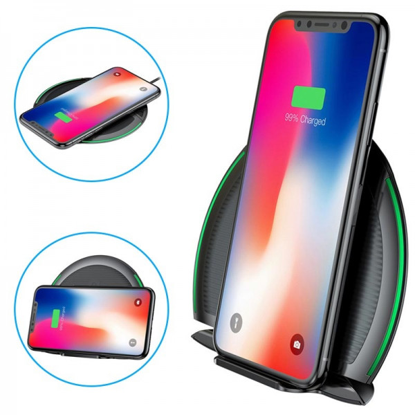 Baseus Foldable Multifunction Wireless Charger Black