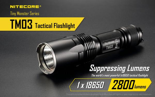 Nitecore LED-Taschenlampe TM03