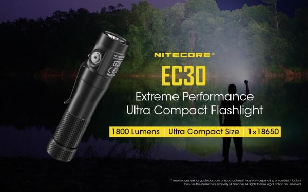 Nitecore Taschenlampe EC30