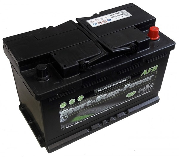Intact Start-Stop Power EFB 12 V 80 AH (c20) 720 A (EN)  GUG