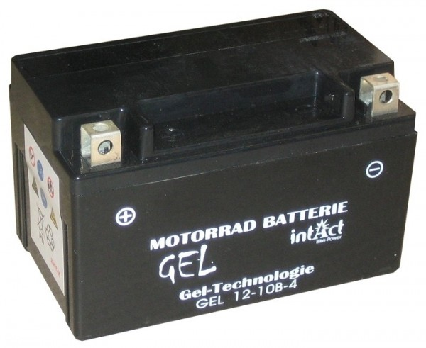 Intact Bike Power Gel - GEL12-10B-4 MoBa 12 V 8,5 AH (c20) 200 A (EN), YT10B-4, YTZ10