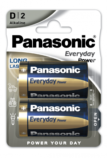 Panasonic Everyday 2x LR20 (D)