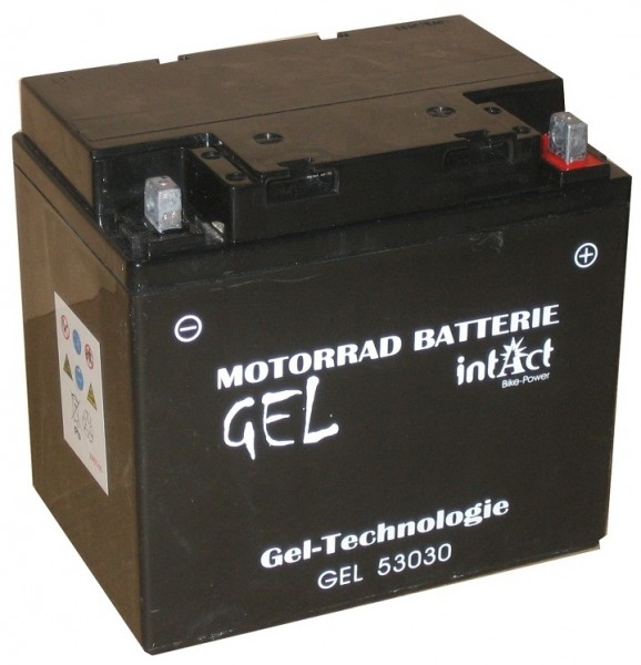 Intact Bike Power Gel - GEL53030 MoBa 12 V 30 AH (c20) 400 A (EN), C60-N30L-A, 5303