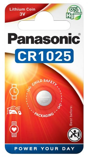 Panasonic Lithium Power 1x CR1025