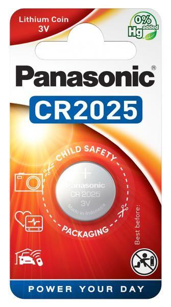 Panasonic Lithium Power 1x CR2025