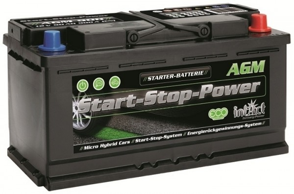 Intact Start-Stop Power AGM 12 V 90 AH (c20) 850 A (EN)  GUG