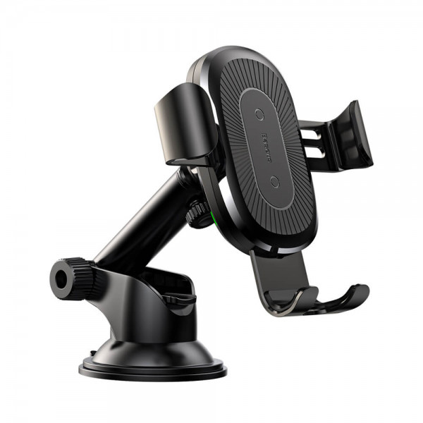 Baseus Wireless Charger Gravity Car Mount(osculum type )Black