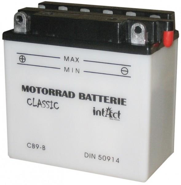 Intact Bike Power Classic - 50914S MoBa 12 V 9 AH (c20) 80 A (EN), CB9-B  +SP