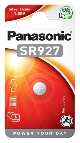 Panasonic SR927 (Silberoxid/Uhrenbatterien)