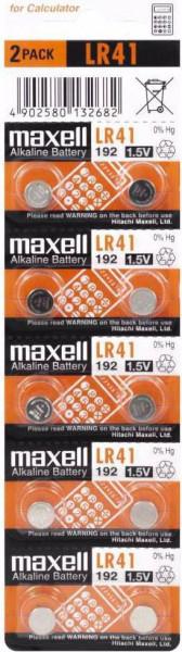 Maxell 10x LR41