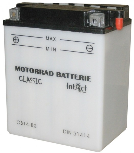 Intact Bike Power Classic - 51414S MoBa 12 V 14 AH (c20) 140 A (EN), CB14-B2