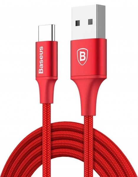Baseus Rapid Series Cable (USB A-C) 2m Red