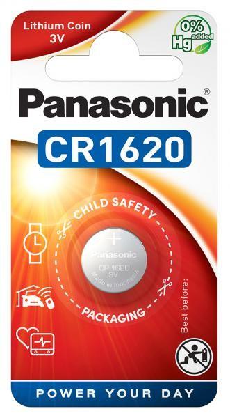 Panasonic Lithium Power 1x CR1620