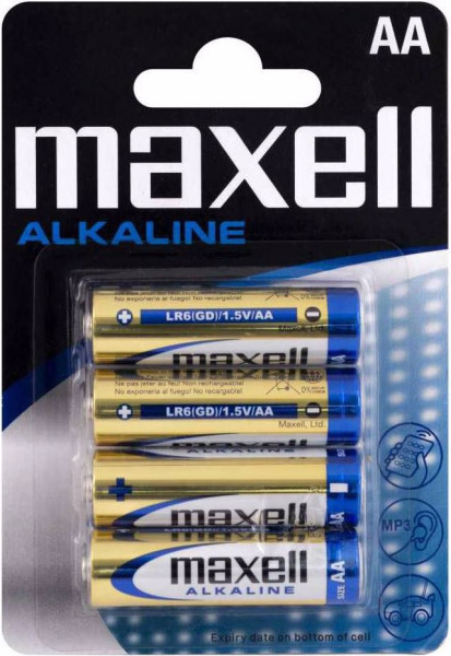 Maxell 4x LR6 (AA)