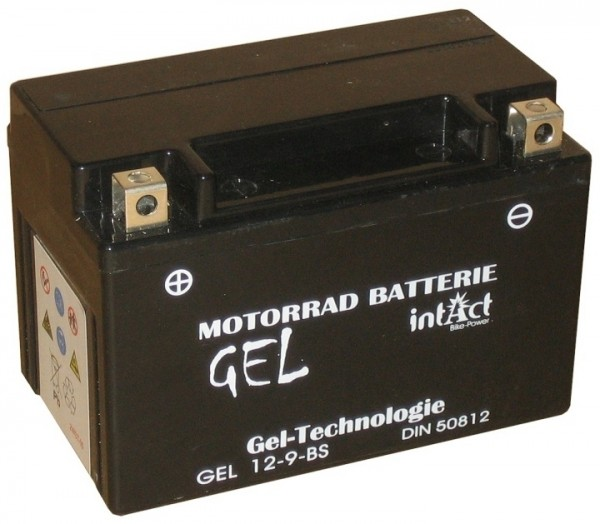 Intact Bike Power Gel - GEL12-9-BS MoBa 12 V 8 AH (c20) 170 A (EN), YTX9-BS, 50812