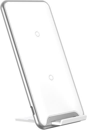 Baseus Three-coil Qi Wireless Charging Pad White