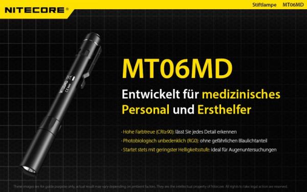 Nitecore LED-Taschenlampe MT06MD