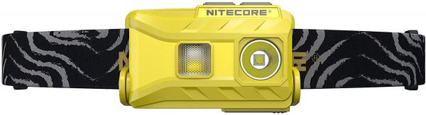 Nitecore Stirnlampe NU25 gelb