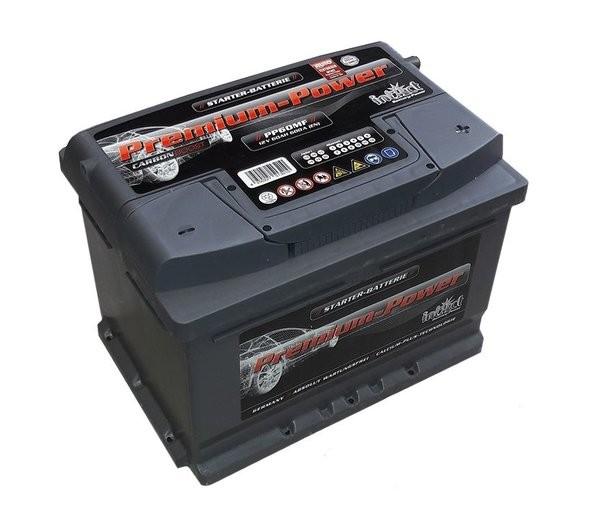 Intact Premium Power 12 V 60 AH (c20) 600 A (EN)  GUG