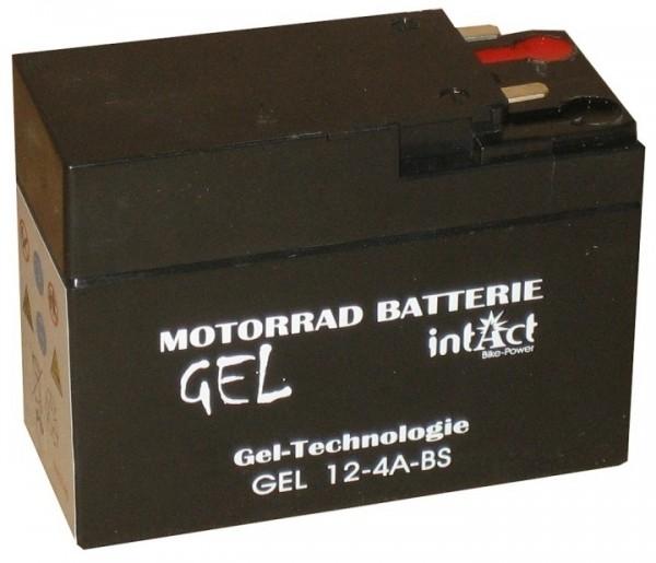 Intact Bike Power Gel - GEL12-4A-BS MoBa 12 V 2,5 AH (c20) 60 A (EN), YTR4A-BS