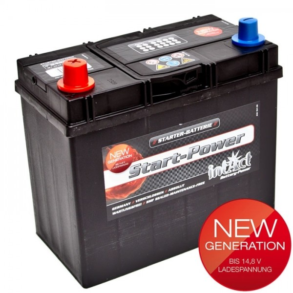 Intact Start Power Asia 12 V 45 AH (c20) 330 A (EN)  GUG