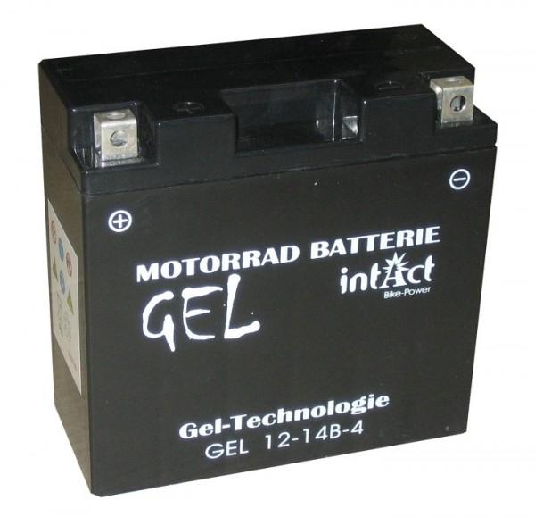 Intact Bike Power Gel - GEL12-14B-4 MoBa 12 V 12 AH (c20) 250 A (EN), YT14B-4, GT14B-4