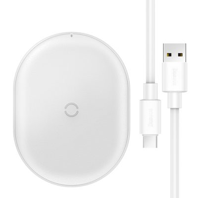 Baseus Cobble wireless charger 15W White