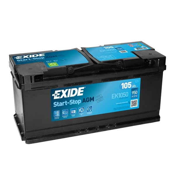 Exide Start-Stop AGM 12 V 105 AH (c20) 950 A (EN)  GUG