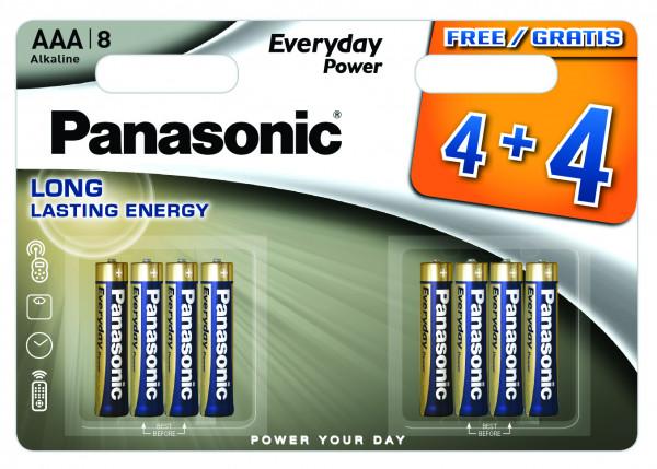 Panasonic Everyday 8x LR03 (AAA)