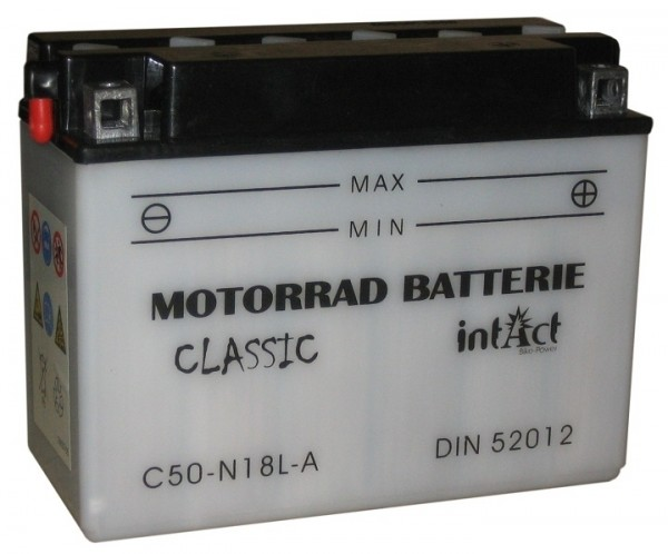 Intact Bike Power Classic - 52012S MoBa 12 V 20 AH (c20) 200 A (EN), C50-N18L-A
