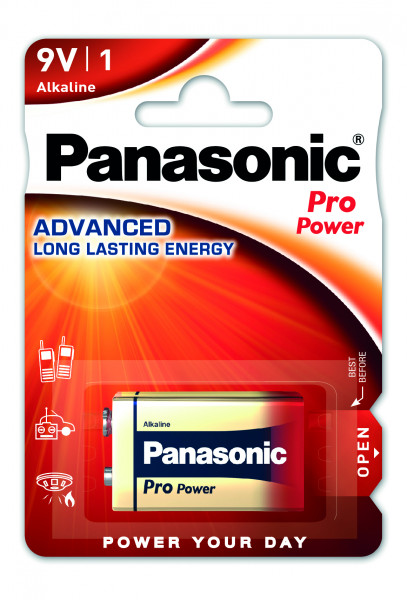 Panasonic Pro Power 1x 6LR61 (9V Block)