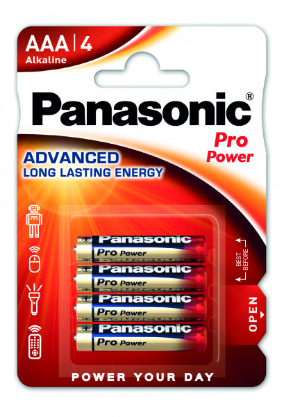 Panasonic Pro Power 4x LR03 (AAA)