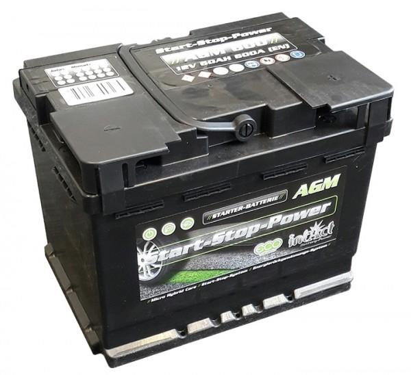 Intact Start-Stop Power AGM 12 V 60 AH (c20) 680 A (EN)  GUG