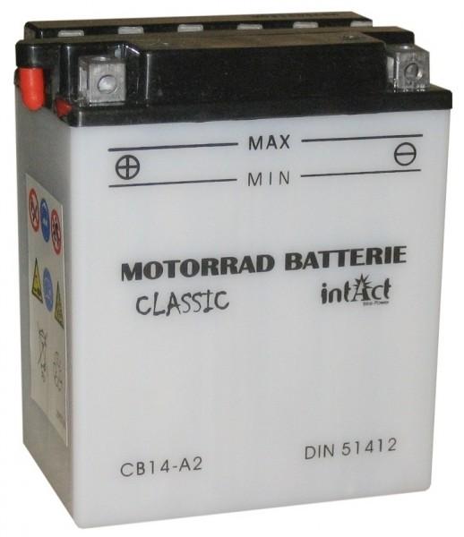 Intact Bike Power Classic - 51412S MoBa 12 V 14 AH (c20) 140 A (EN), CB14-A2